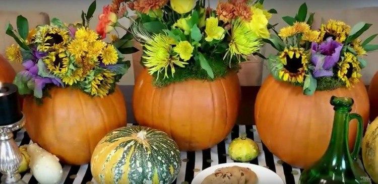 pumpkin flowers