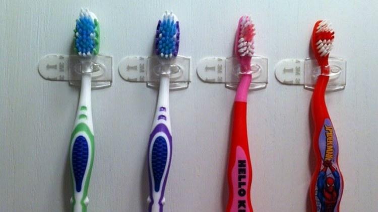 MountedToothbrushes