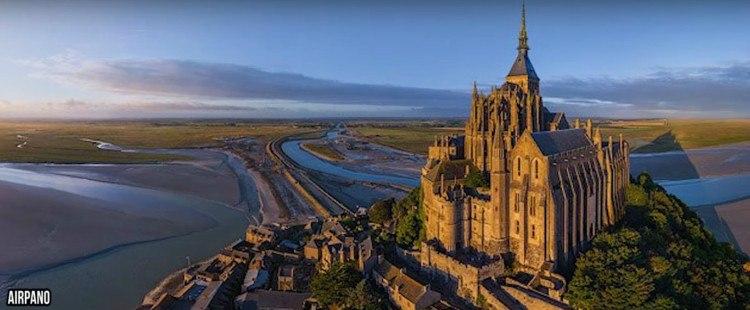 Image of Mont St. Michel.