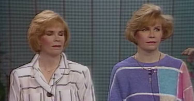 Sisters on The Oprah Winfrey Show not happy with their 80's makeovers