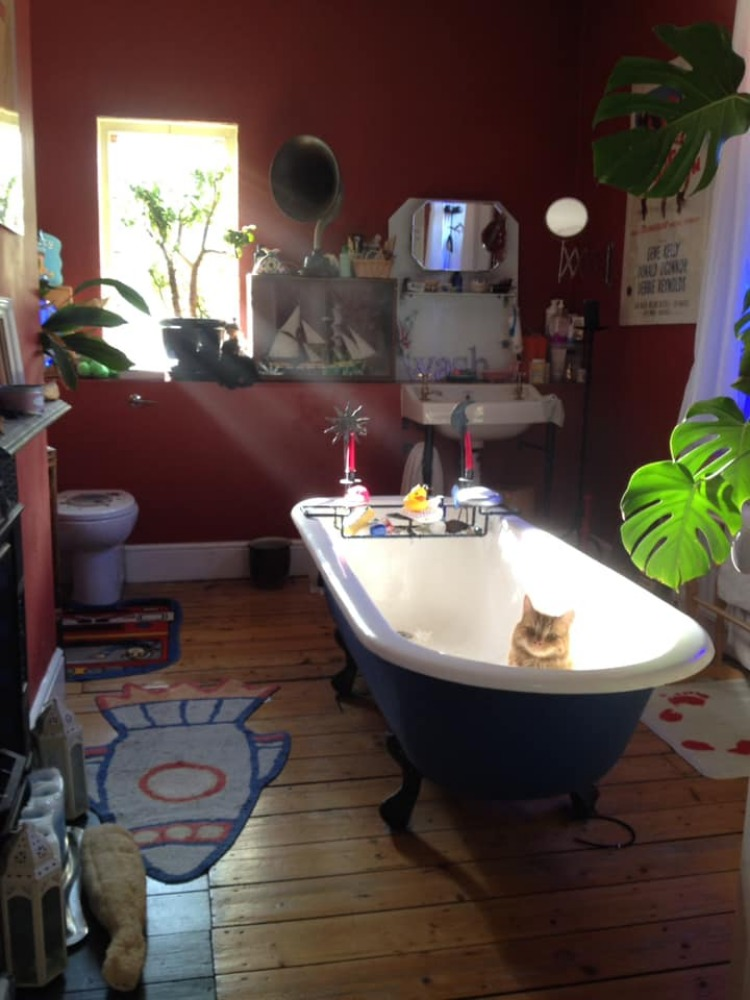 15 People Share Their Most Unusual Bathroom Designs