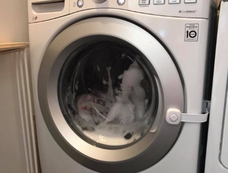 Image of washing machine
