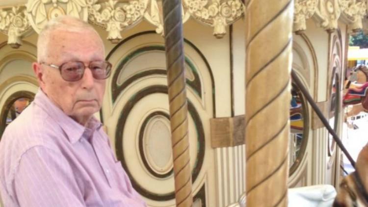 Old Man on Carousel