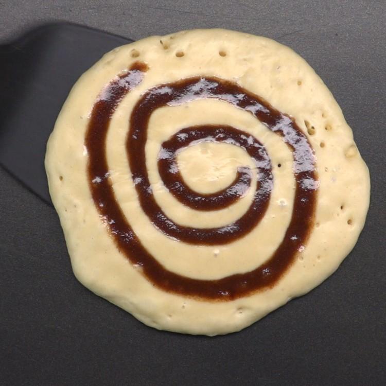 Cinnamon Roll Pancakes 3
