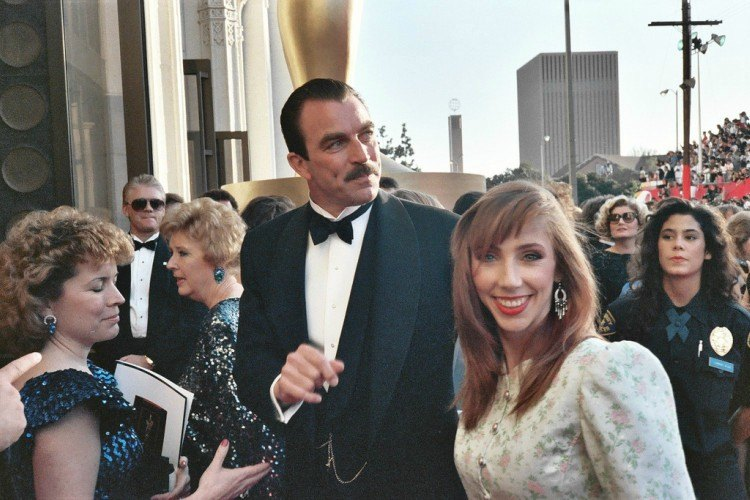 Image of Tom Selleck and wife Jillie.