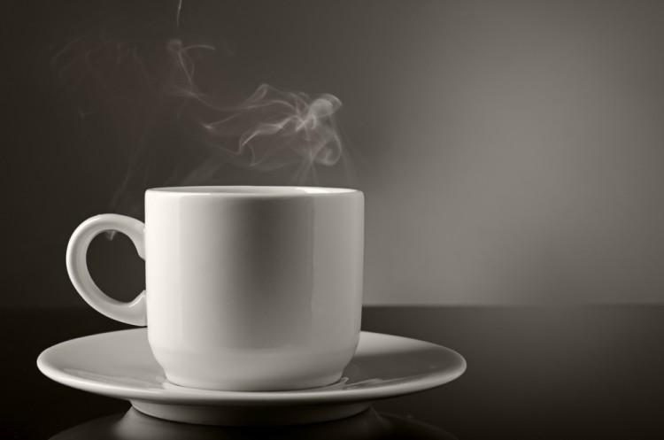 Image of steamy mug.
