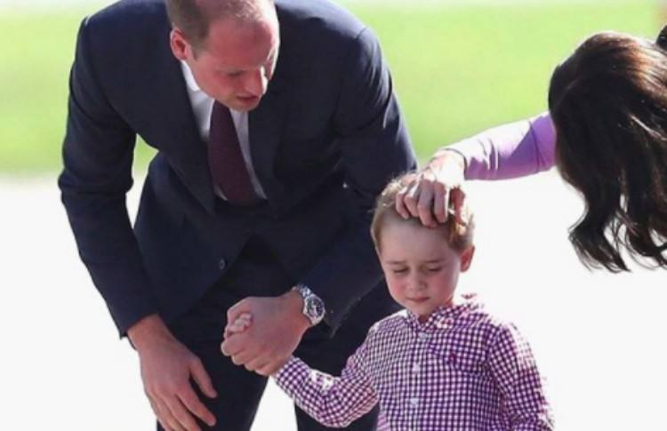 Will and Kate parenting hair