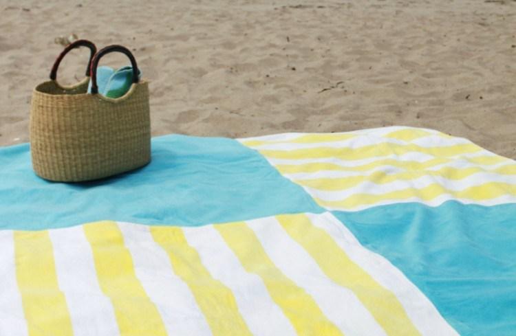 towel beach blanket