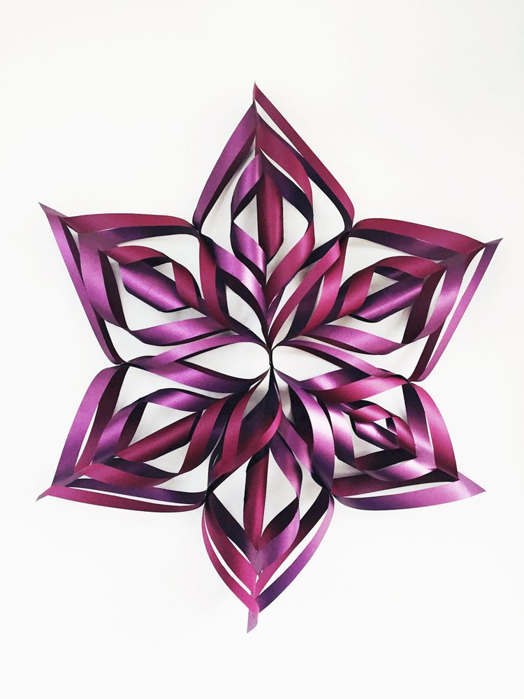 How To Make These Huge Decorative Snowflakes