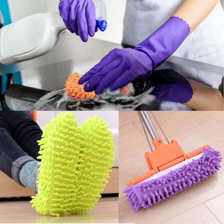 Image of cleaning slippers