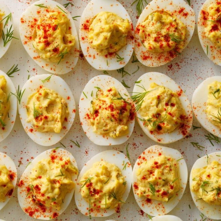 Image of deviled eggs