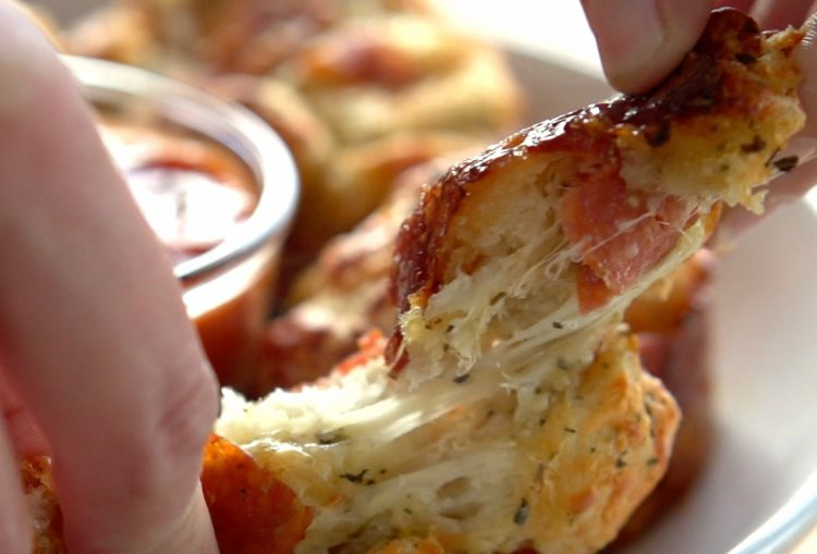 Pizza Pull Apart Muffins