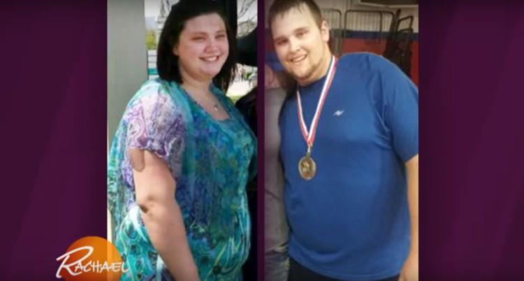 Image of couple who lost weight together.