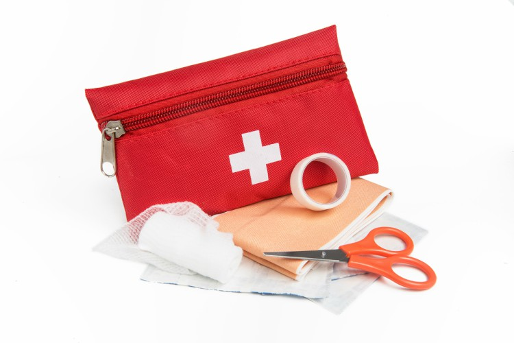 Image of first aid kit.