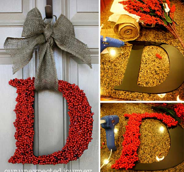 Letter Wreath