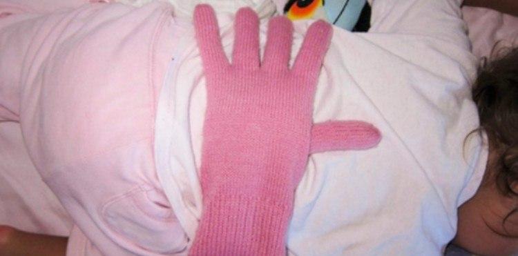 parenting hack glove
