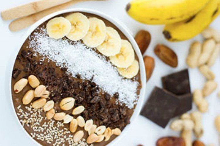 ChocolatePeanutButterSmoothieBowl