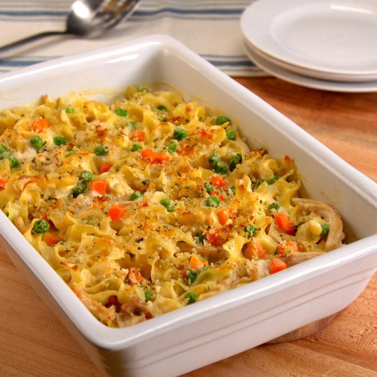 Chicken Noodle Casserole 6