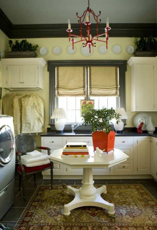 Elegant Laundry Room