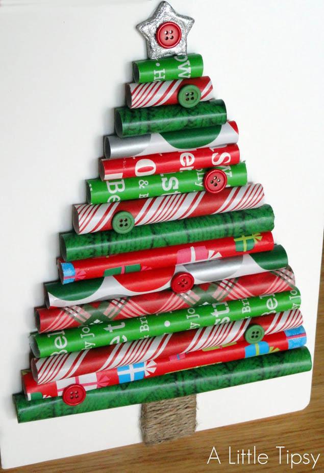 Gift Wrap Tree