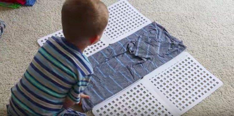 shirt folding hack