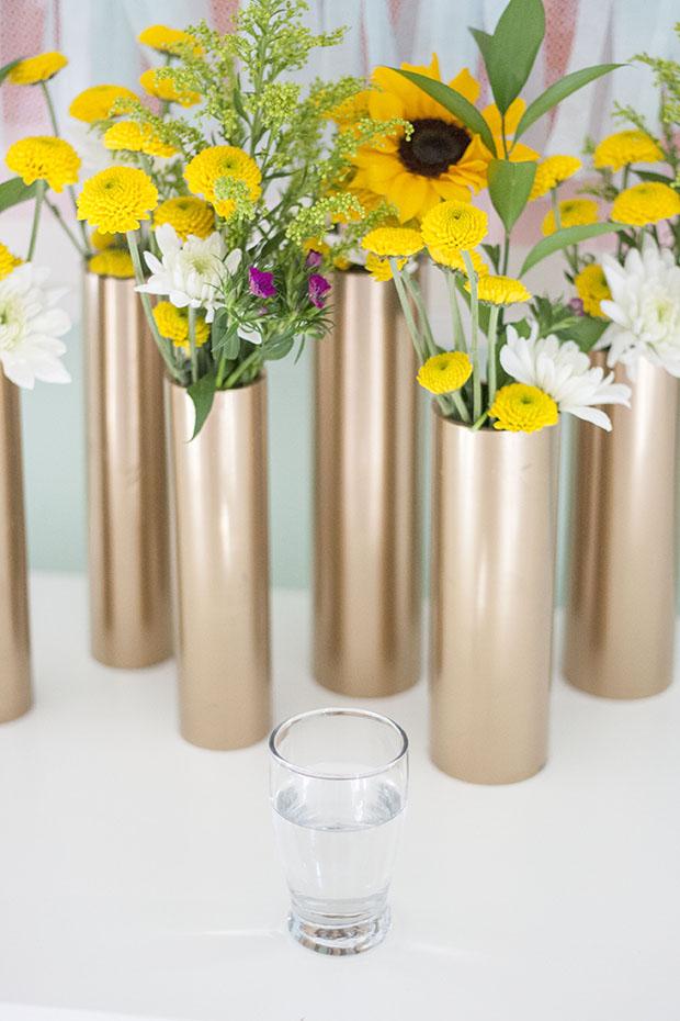 pipe vases
