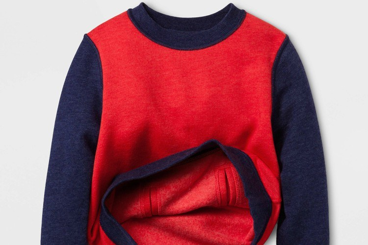 Image of adaptive sweatshirt.