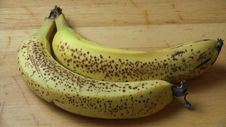 Ripening bananas.
