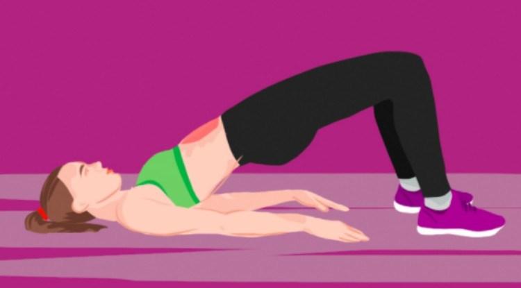 bed exercises bridge