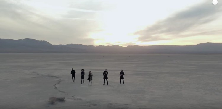 Desert where music video was shot.