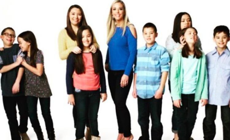 Kate Gosselin with kids