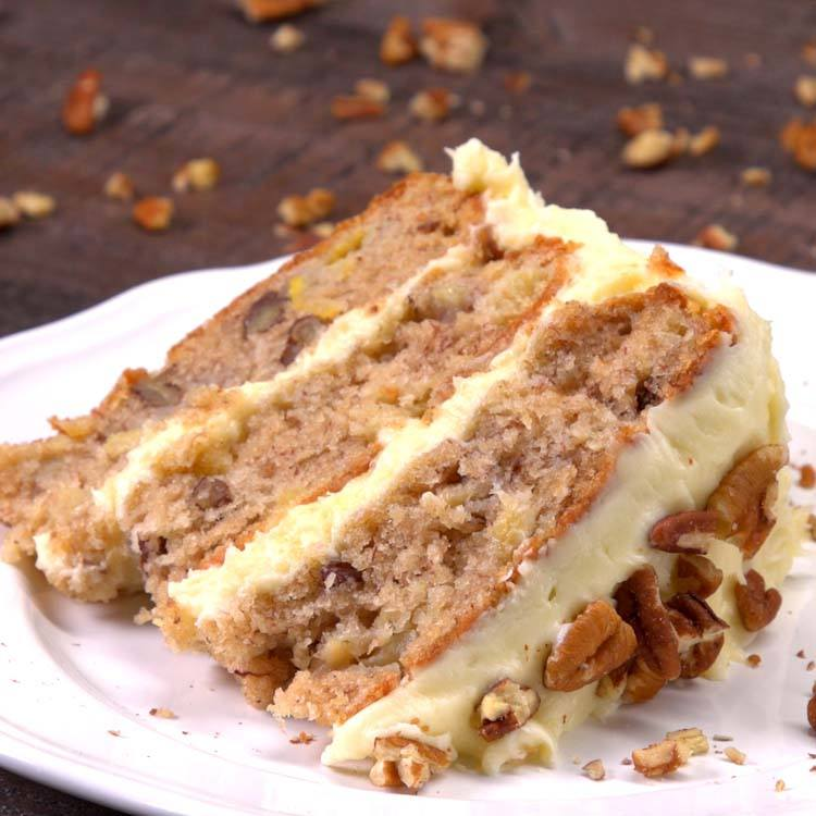 Easy Pineapple Cake Recipes From Scratch: Classic Hummingbird Cake Recipe & History