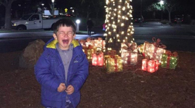 upset kids presents