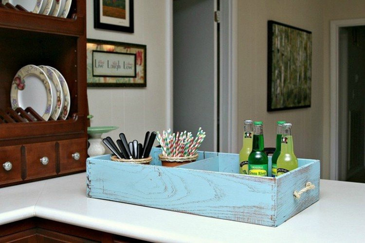 drawer serving tray