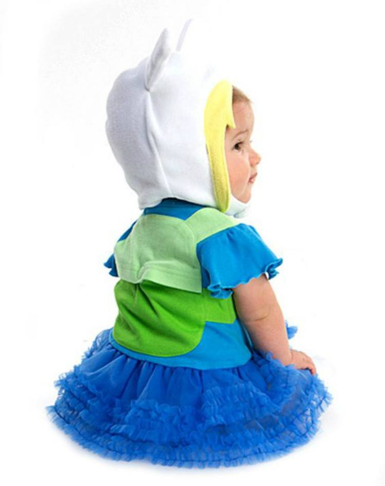 Image of baby in Fiona costume