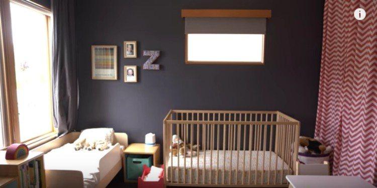 girls baby nursery