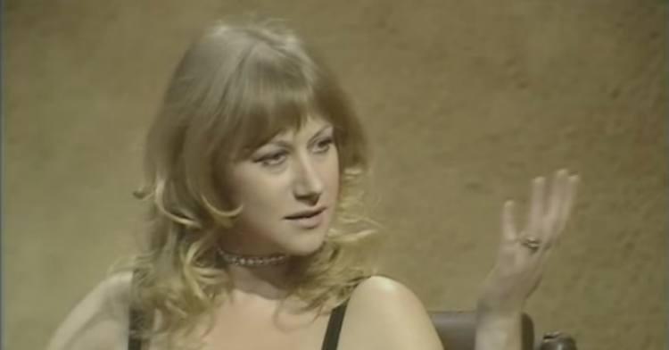 Helen Mirren answers Parkinson's rude question in 1975