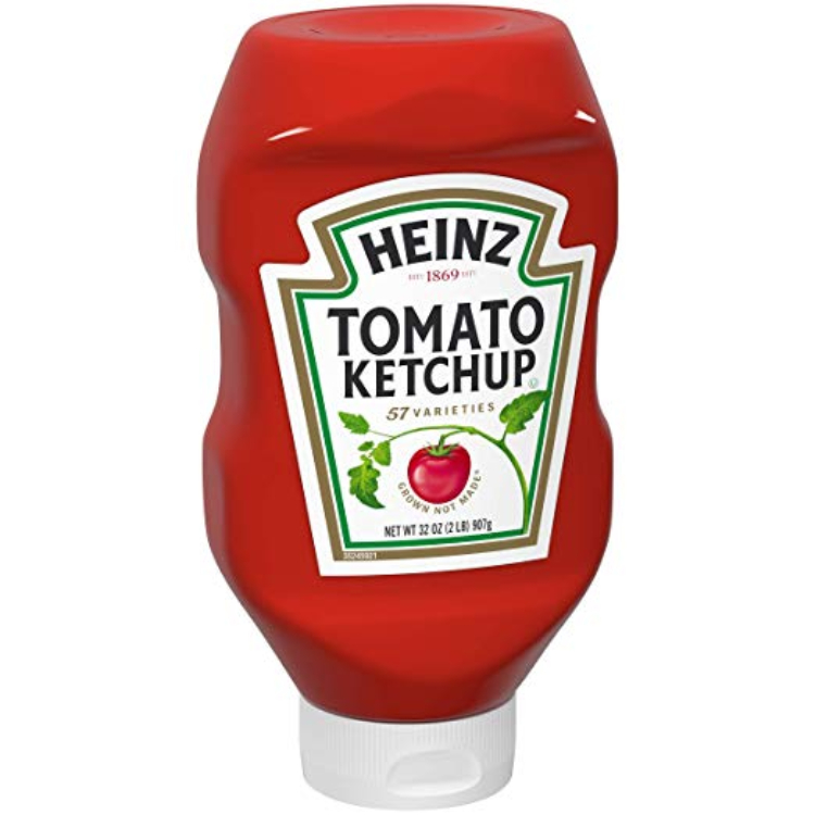 Image of bottle of ketchup