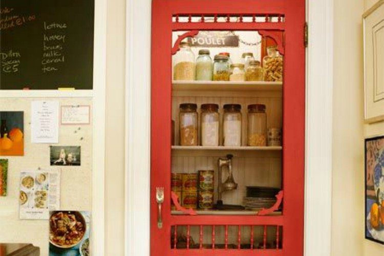 door pantry screen