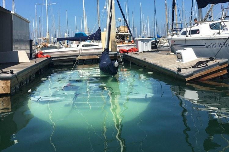 bad day sunken boat