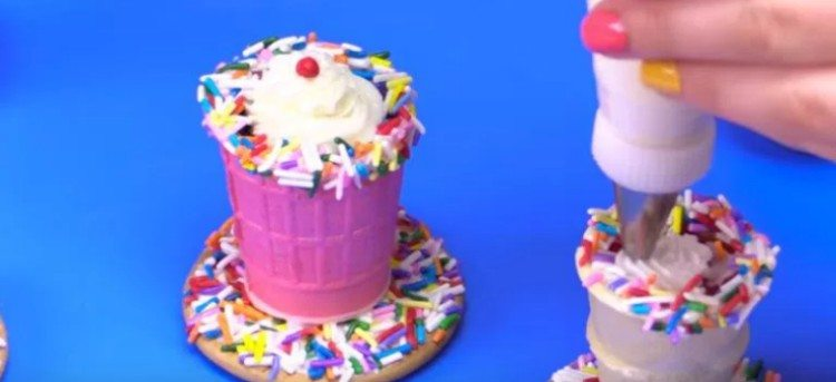 milkshake cones