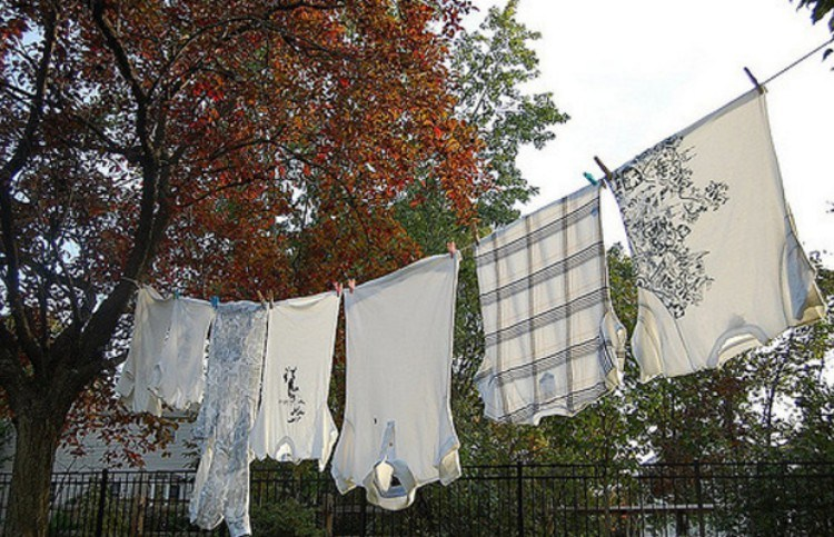view of clothesline outdoors