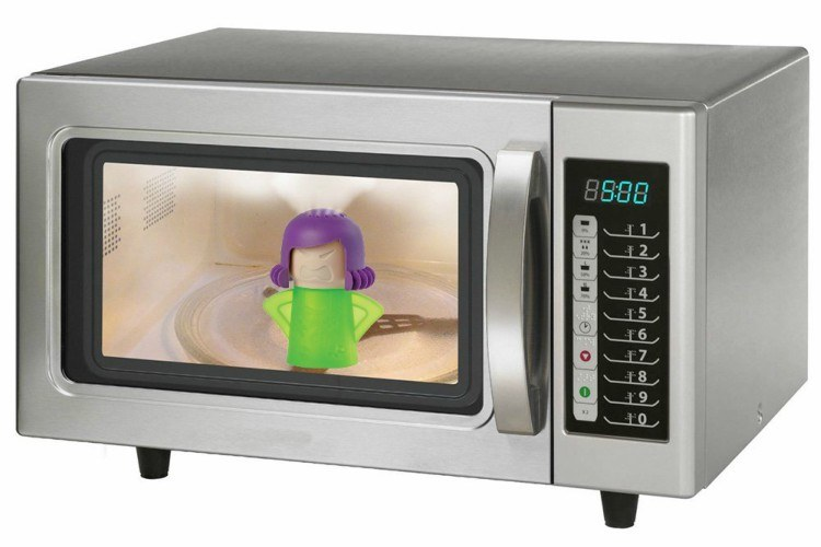 cleaner microwave
