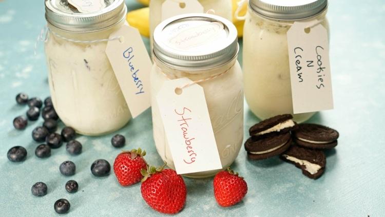 Mason Jar Ice Cream 3