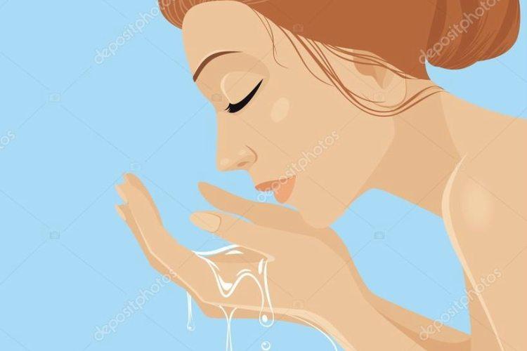 Mix Epsom salt into face wash or cream to exfoliate