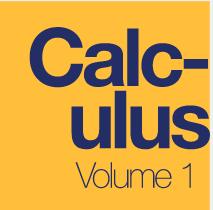 Calculus, Volume 1