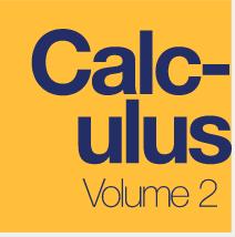 Calculus, Volume 2