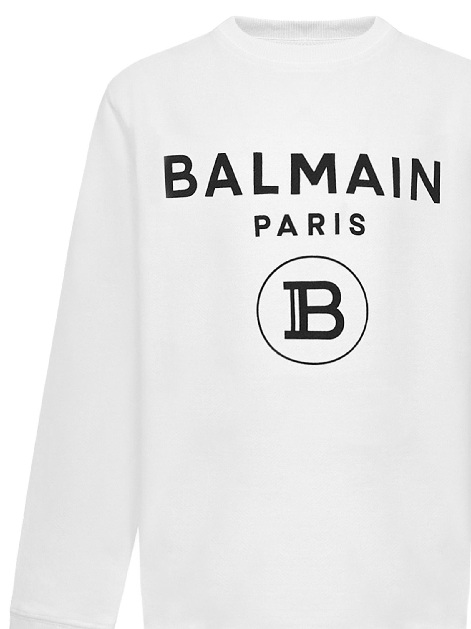 Balmain Paris Kids Sweatshirt Balmain Paris Kids | -108764232 | 6N4670NX300100NE