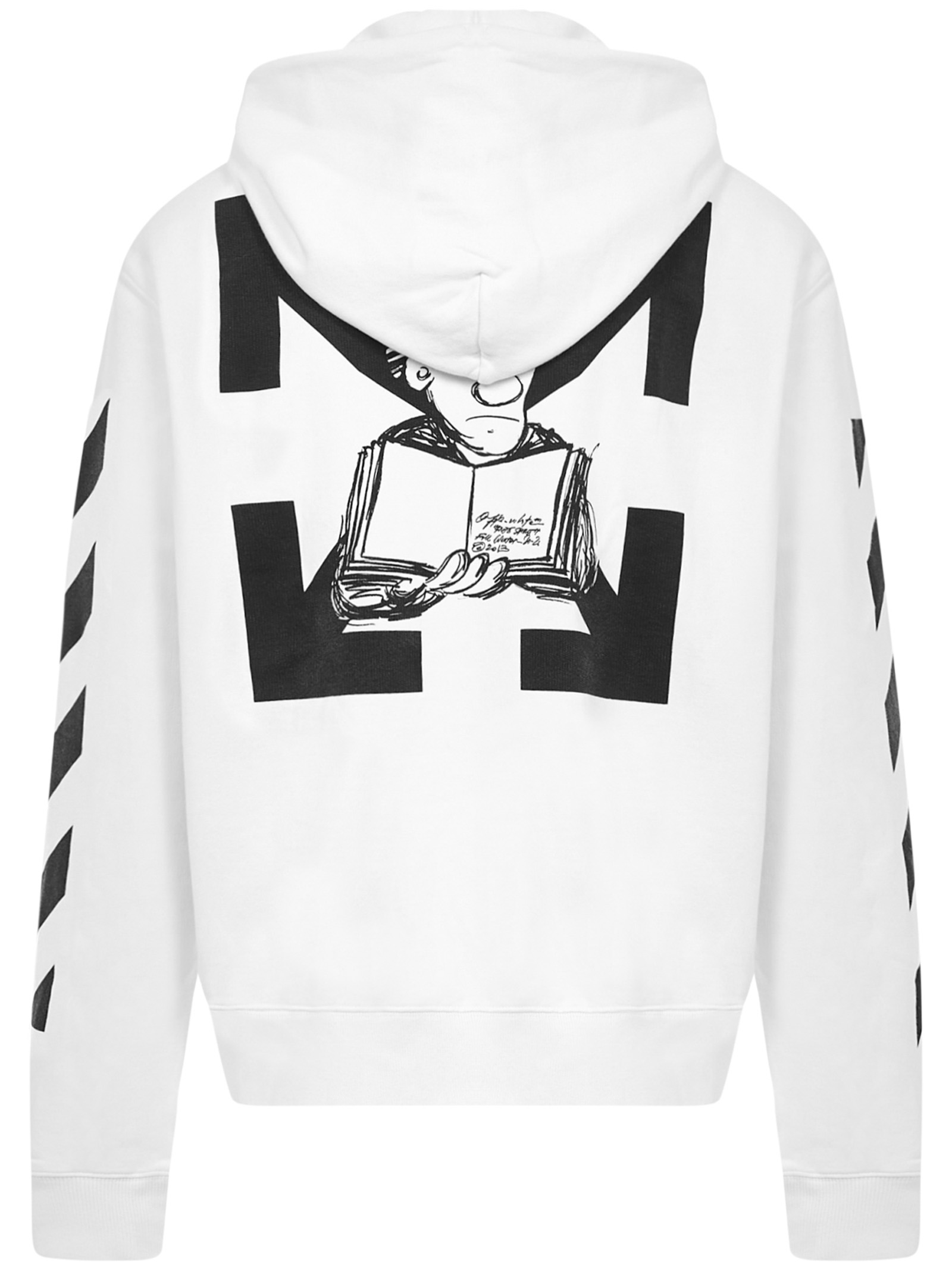 Off-White Diag Pencil Arch sweatshirt Off-White | -108764232 | OMBB034F20FLE0080110