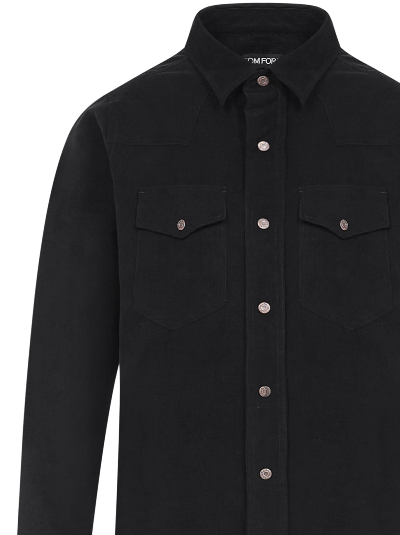 Tom Ford shirt Tom Ford | -1043906350 | 8FT87794UAHEG